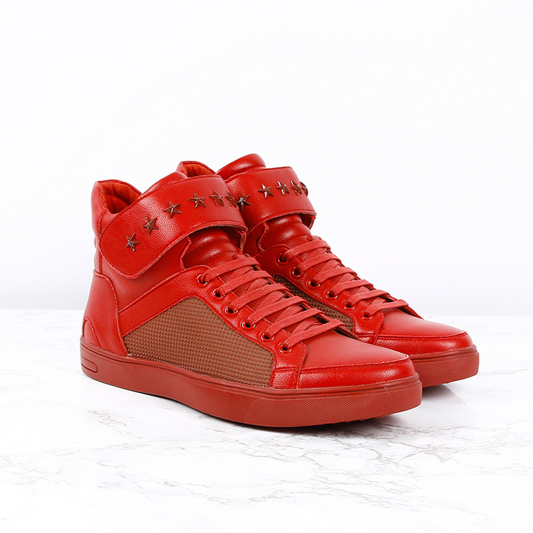 G26 EDITION - SNEAKERS HIGH IN RED
