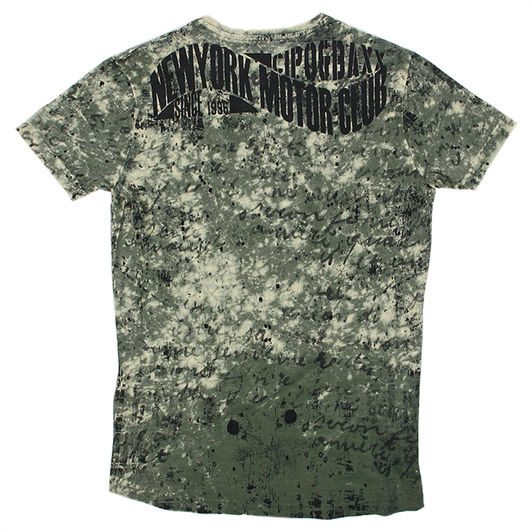 CIPO AND BAXX SKULL TEE IN GREEN