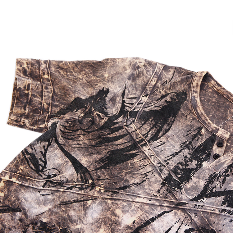 CIPO AND BAXX SOFT WASHED TEE