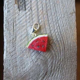 Halsbandshänge, vattenmelon