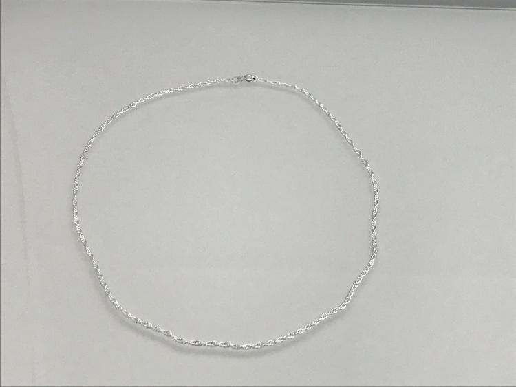 Halsband, silver