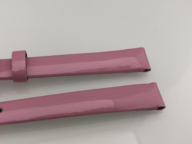 10 mm rosa kalvläder