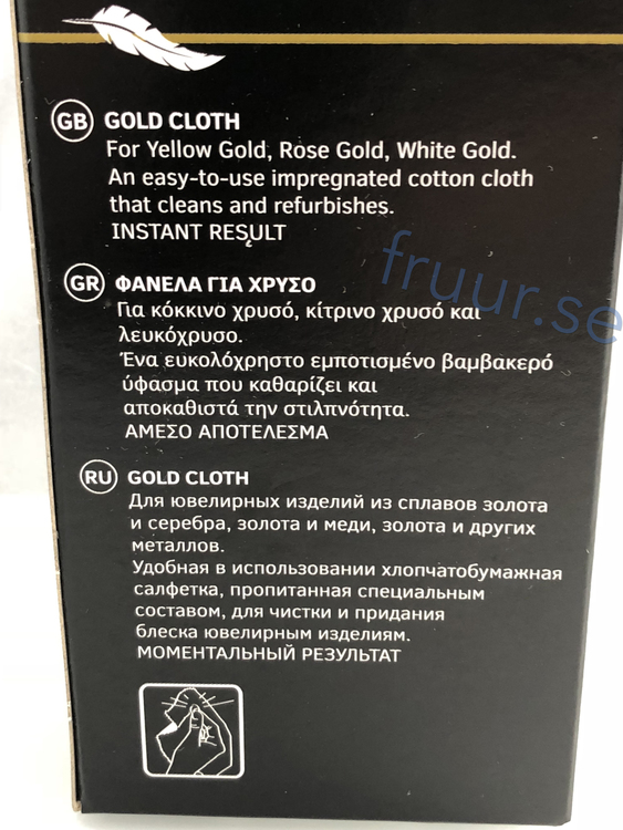 Poleringsduk, guld