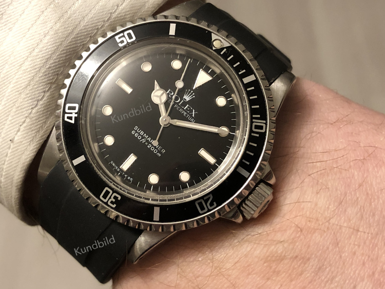 Rolex Submariner, 20.5 mm