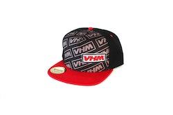 VHM snapback cap, black, size 58 -