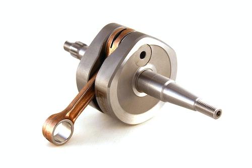 VHM Crankshaft high inertia Yamaha YZ85 '19->, OEM conrod