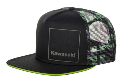 Kawasaki keps kamouflage