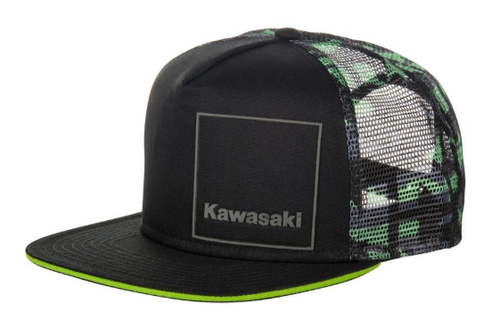 Kawasaki keps Camo cap Berg Racing