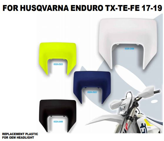 Ufo plastkit enduro Husqvarna 17-19