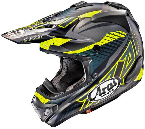Arai MX Slash Svart crosshjälm