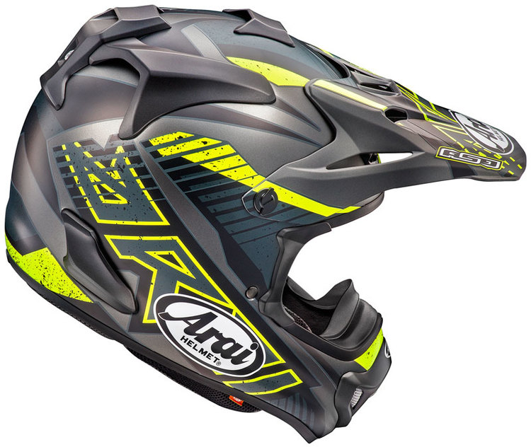 Arai MX Slash  Svart
