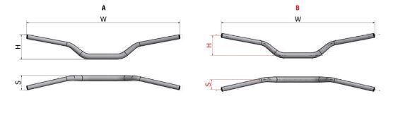 Neken Styre 28,6 mm YZF Bend
