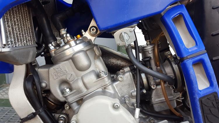 YZ 125 2017  Preppad motor fjädring