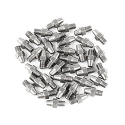 ZETA Aluminum Fotpinnar Utbytes Pins 37st