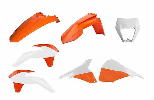 Plastkitt polisport Ktm 2020  med Lampkåpa original färg. EXC/EXC-F/XC-W/XCF-W