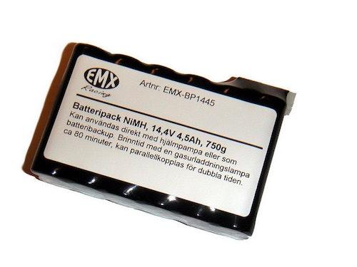 Batteripack NiMH, 14,4V, 4,5Ah, 740g,