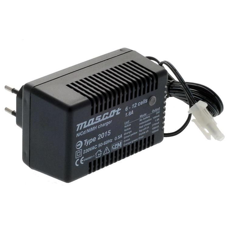 Automatisk Batteriladdare NiMH, 10-12 celler, 2,7-7Ah, 1,8A