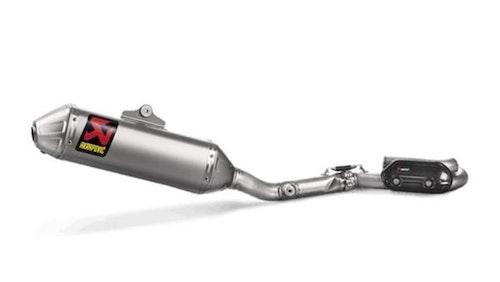 Racing exhaust system Akrapovic  KX250F