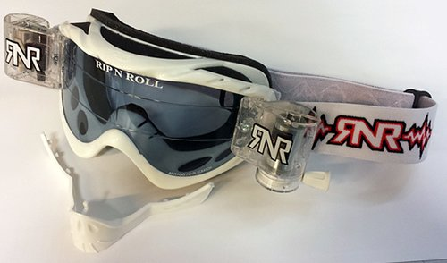Rip n Roll | Hybrid TVS Rolloff glasögon vit