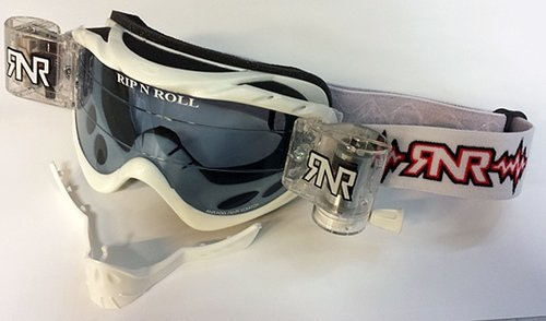 Rip,n roll Hybrid TVS Goggle White