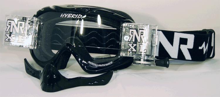 Rip n Roll | Hybrid TVS XL Rolloff glasögon svart