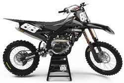 Yamaha Gray on Black