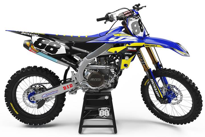 Yamaha Stars and Blue
