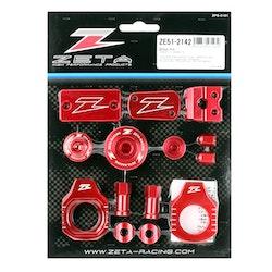 ZETA Billet Kit KX250F 17-20, KX450F 16-18, Röd