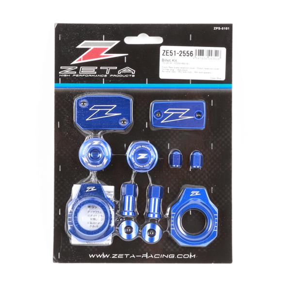 ZETA Billet Kit Husky TC125, FC250-450 16-, TC250 17- Blå