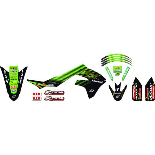 Blackbird Dekal & dynöverdrags kit Kawasaki