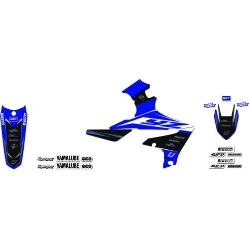 Blackbird Dekal & dynöverdrags kitt Yamaha