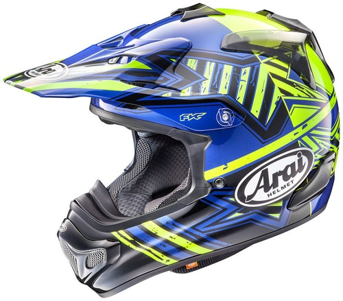 Arai  MX-V star Yellow