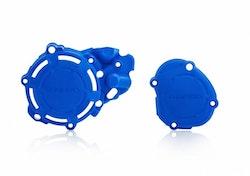 Acerbis kopplingsskydd blå Yamaha yz125
