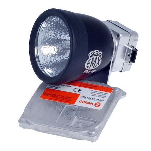 EMX Hjälmlampsats Pro 45W, 5000K, gasurladdning