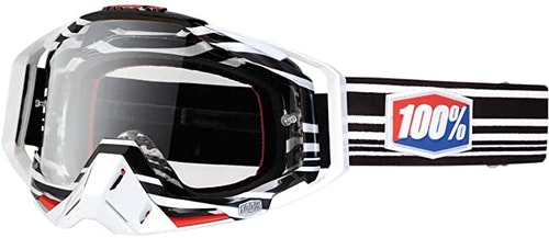 100% | Racecraft vit/svart