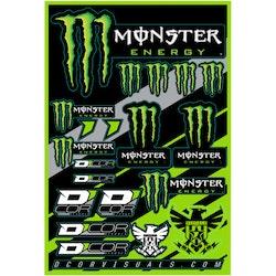 Klistermärken Monster Energy