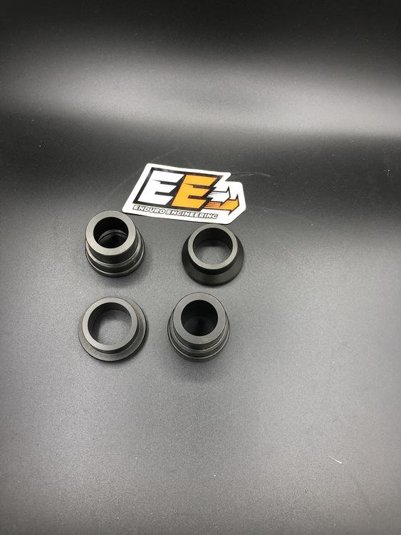 EE Adapter för KTM hjul på Sherco, kit fram + bak, ej Xplorgaffel