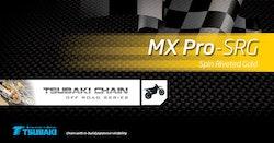 Kedja Tsubaki MX Pro Gold 428 128 länk