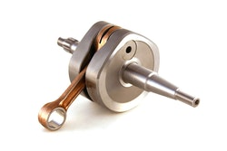Crankshaft middle inertia 85SX '18-21,  TC85 '18-21, OEM conrod -  -- OEM KTM conrod kit 47030015300