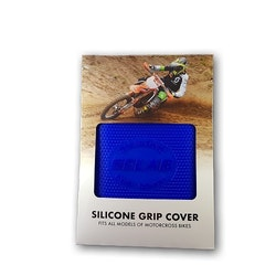 Selab silicone gripcover Klarblå