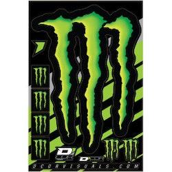 Klistermärken Monster Energy ark