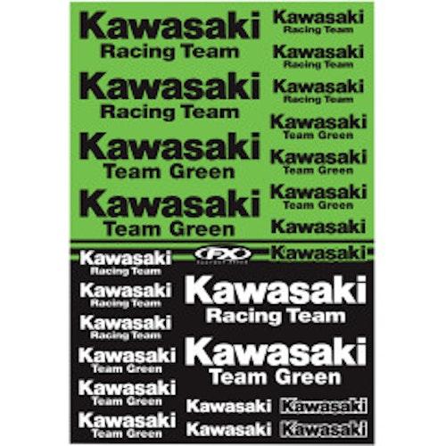 Klistermärken Kawasaki Racing Team