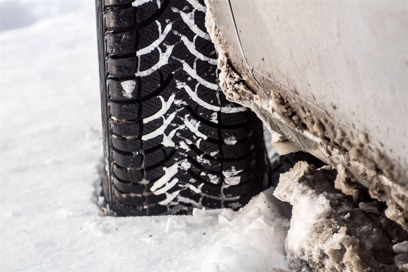 Skydda bilen mot vägsalt