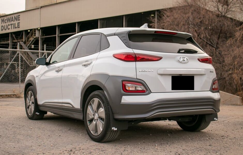 Hyundai Kona Electric stänkskydd