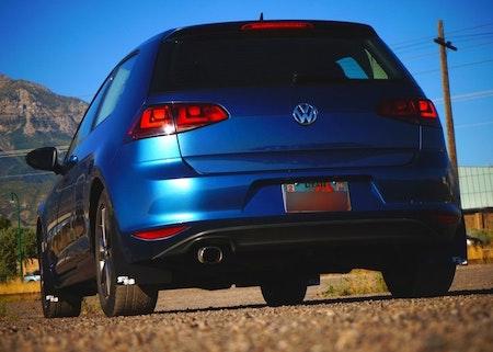Volkswagen Golf  R  Mk7 Stänklappar  2015+