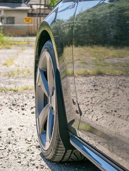 Slimmade stänkskydd - Framhjul