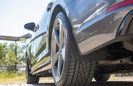 Slimmade stänkskydd - Audi S4