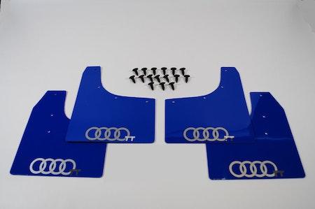 Stänkskydd med Audi ringarna