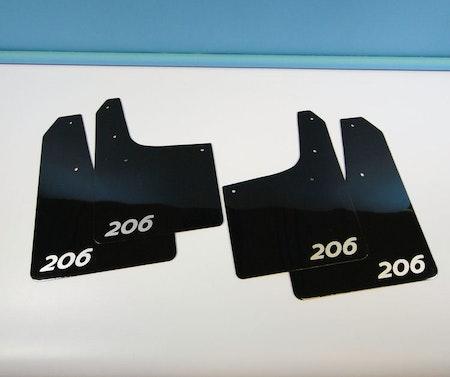 Peugeot 206 Stänklappar