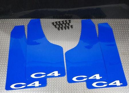 Citroen C4 Stänklappar